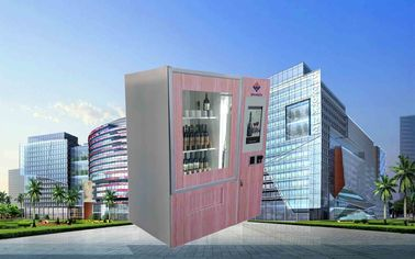 Китай CE FCC Winnsen Wine Vending Machine For Shopping Mall With Credit Card Reader Payment завод