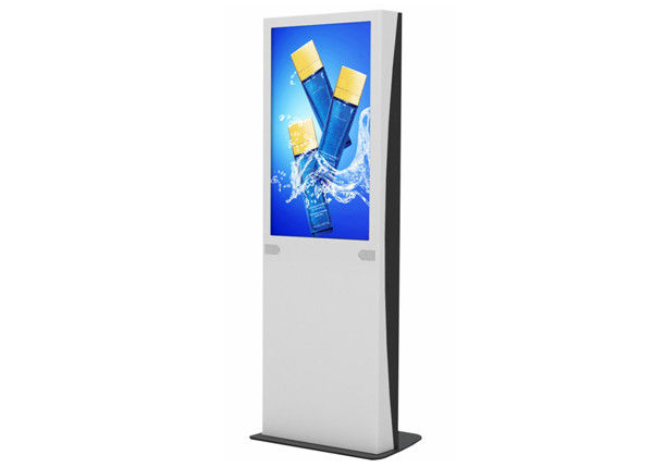 Plug & Play Network 32 Inch LCD Digital Signage for Airport / Shopping Mall / Gym