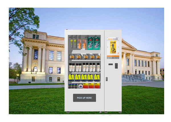 Staff Use RFID Fingerprint Safety Product Small Vending Machines Support Return Function