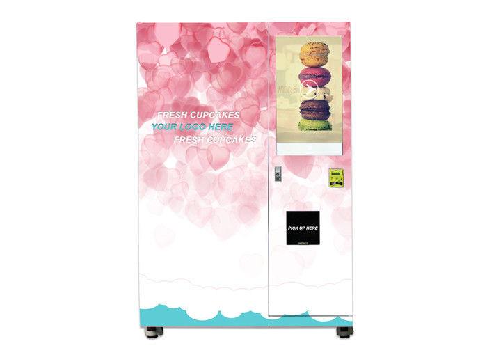 Egg Cupcake Vending Machine With Elevator System For Bread Shop Shopping Malls