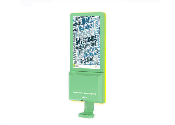Soap Sanitizer Dispenser 21.5 Inch Lcd Signage With Camera